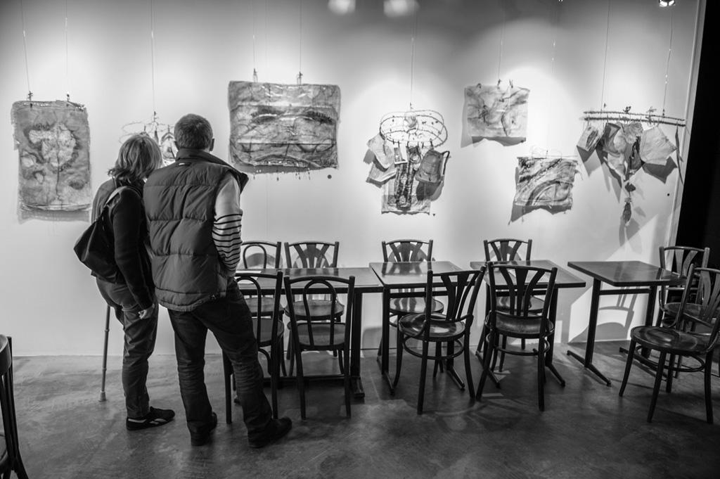 expo mars 2014 à L'Art à Palabres à Montreuil