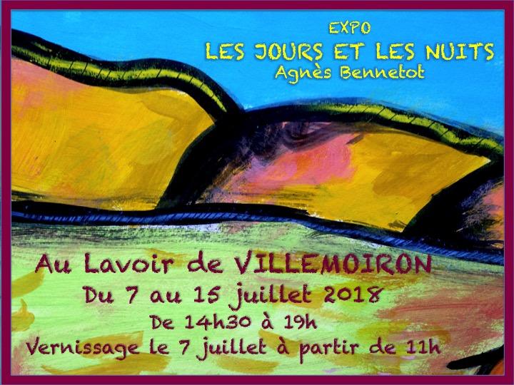 affiche expo villemoiron 07 -18