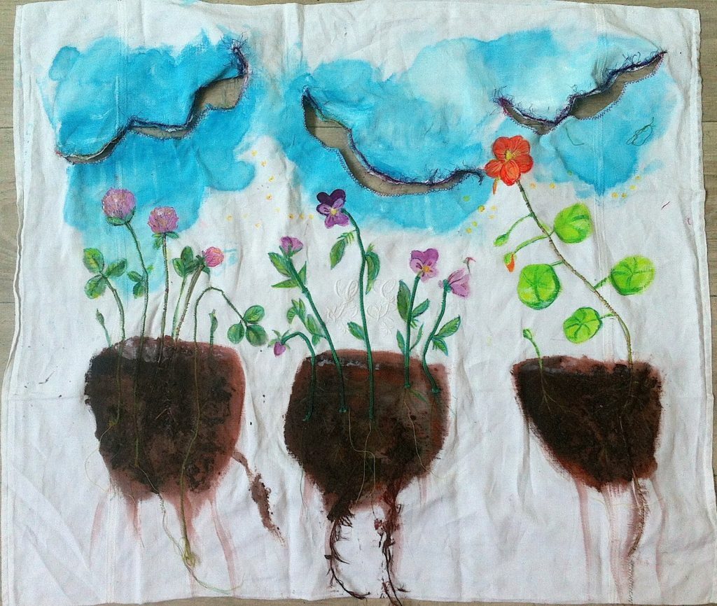 fleurs , du ciel aux racines